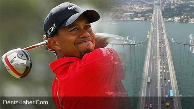 Tiger Woods Avrasya Golf Vuruşu